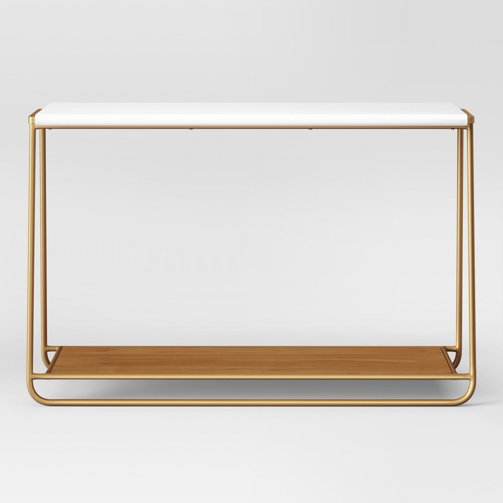 Pin By Zoe Goplerud On Products Metal Console Table Console Table Tv Console Table