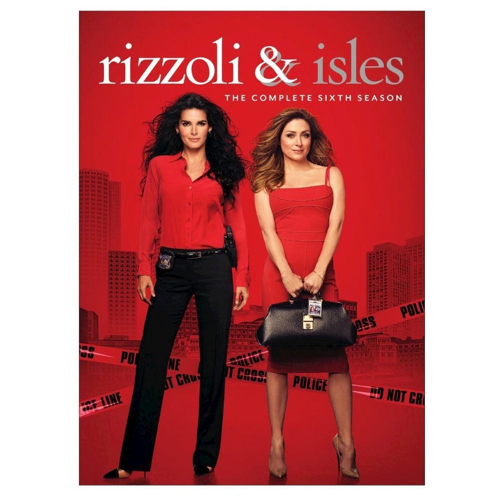 Rizzoli Isles The Complete Sixth Season Dvd Rizzoli Maura Isles Seasons