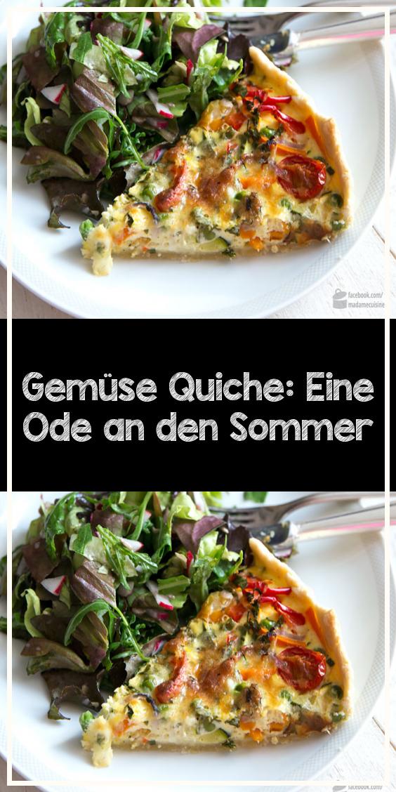 Photo of Quiche de verduras: una oda al verano