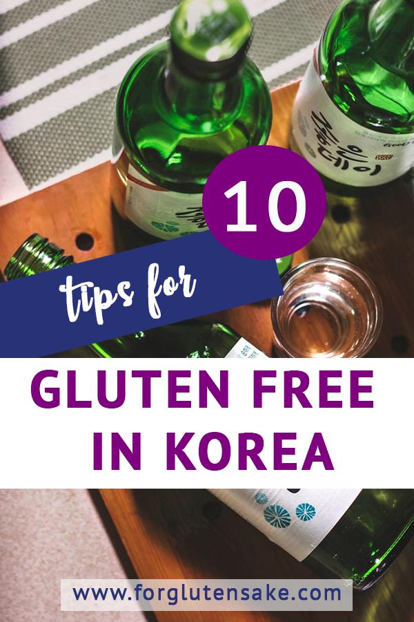 10 Tips For Eating Gluten Free In Korea Gluten Free Korean Food Gluten Free Gluten