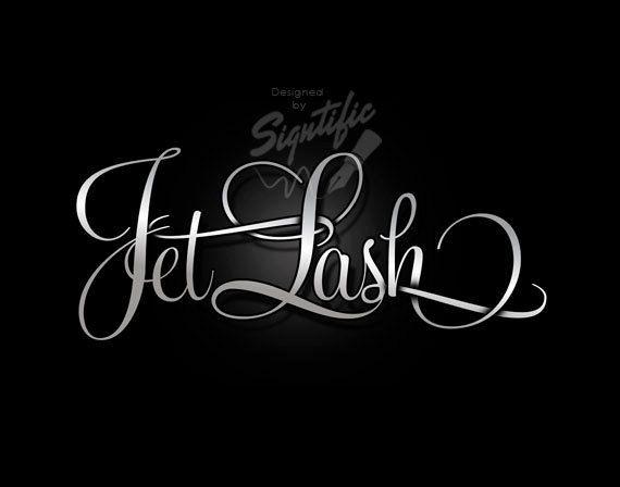Elegant silver logo - FREE watermark, eyelash business logo ...