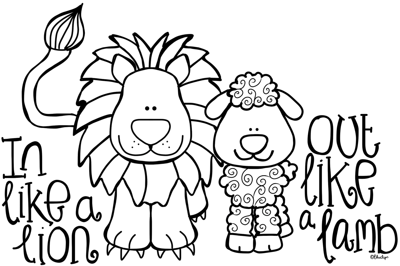 Lamb craft, Lion, lamb, Lion coloring pages