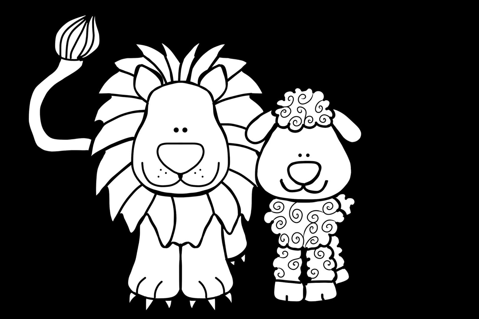Ask Com Lion And Lamb Lamb Craft Lion Coloring Pages