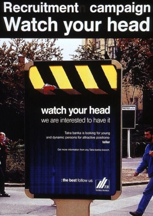 whatch your head