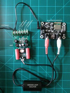 How to build a bluetooth speaker speakers arduino and bluetooth a do it yourself adventure solutioingenieria Images