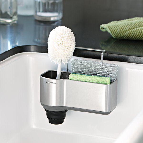 Best Simplehuman Kitchen Stainless Steel Sink Caddy Kitchen 640 x 480