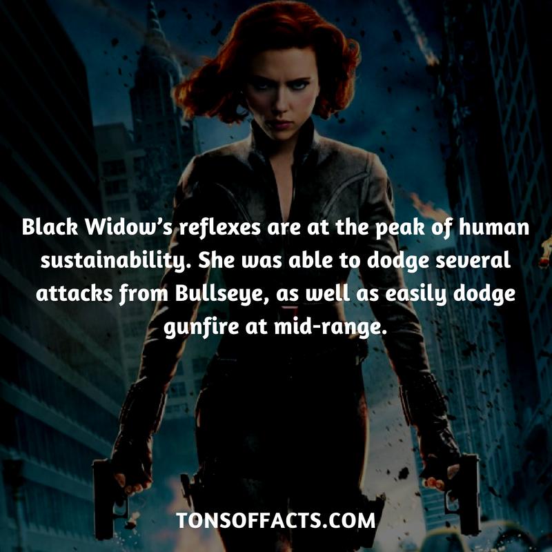 Hayley Carter Black Widow Marvel Marvel Facts Marvel