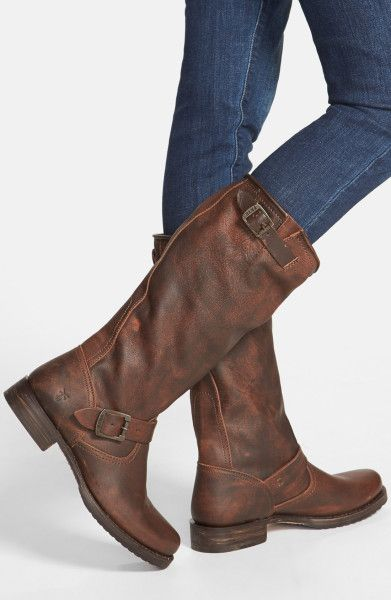 a5ab22199202 frye veronica back zip short. Wish I had these Veronica Slouch boots from  Frye.