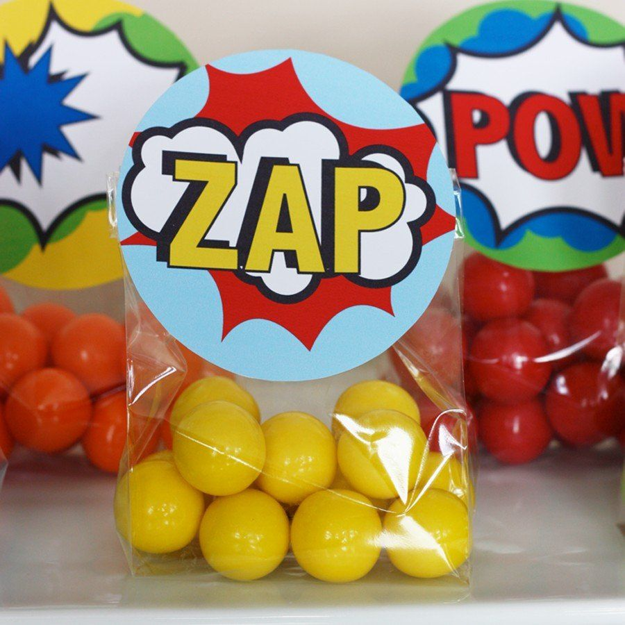 Looking For A Simple Favor Solution This Printable Treat Bag Topper And Fill Clear Plastic With Colorful Cans