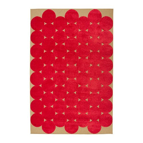 Ikea Ps 2016 Rug Low Pile Red