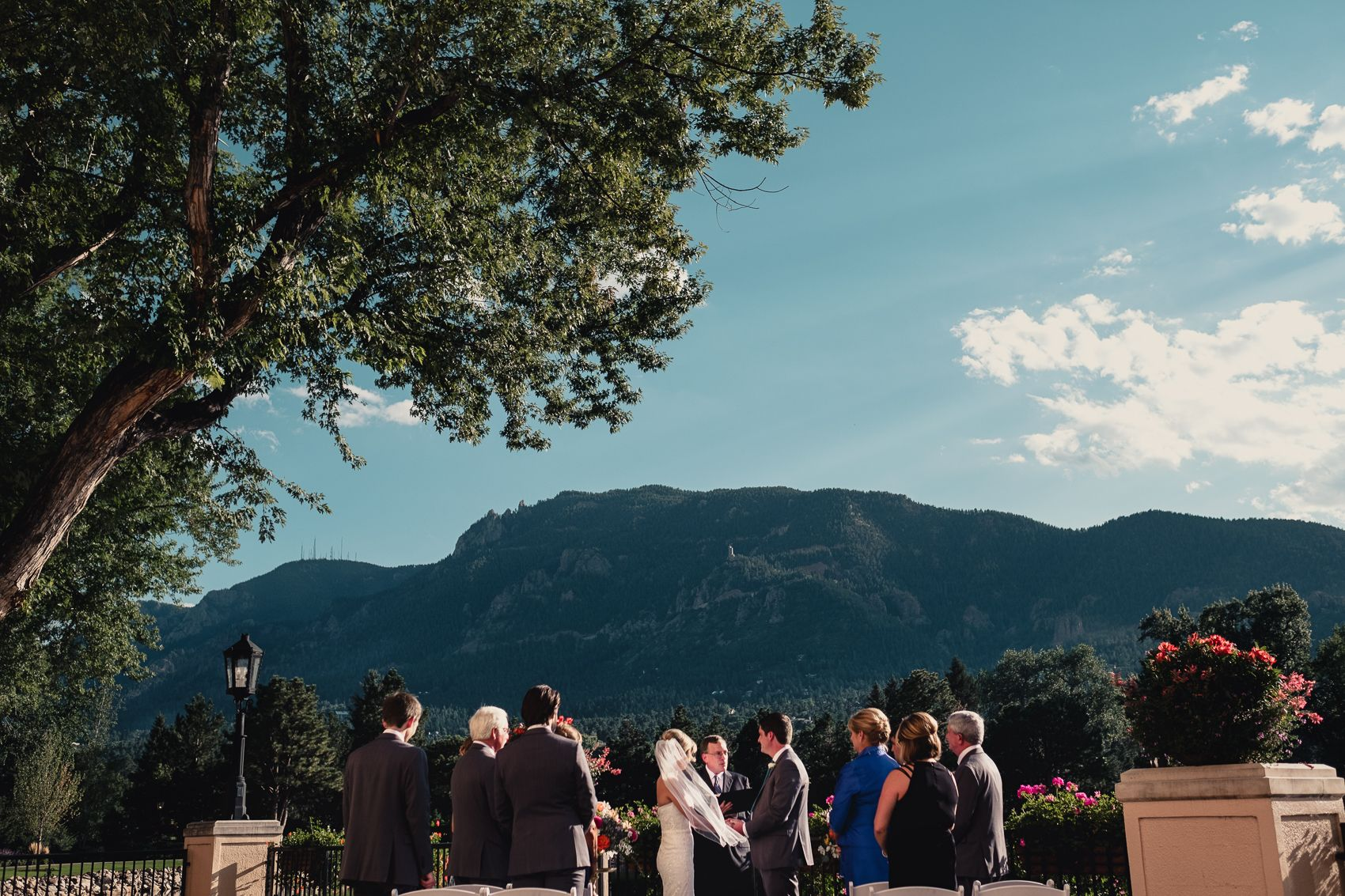 The most beautiful day for a Broadmoor Wedding in Colorado