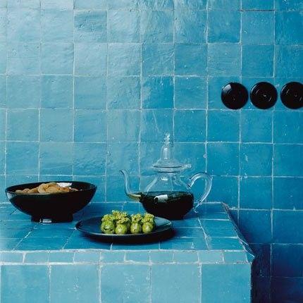 marokkanische zelliges bleu 10x10 cm bad pinterest fliesen badezimmer und kacheln. Black Bedroom Furniture Sets. Home Design Ideas