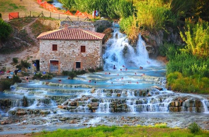 Top 5 Italy S Natural Hot Springs Most Romantic Places