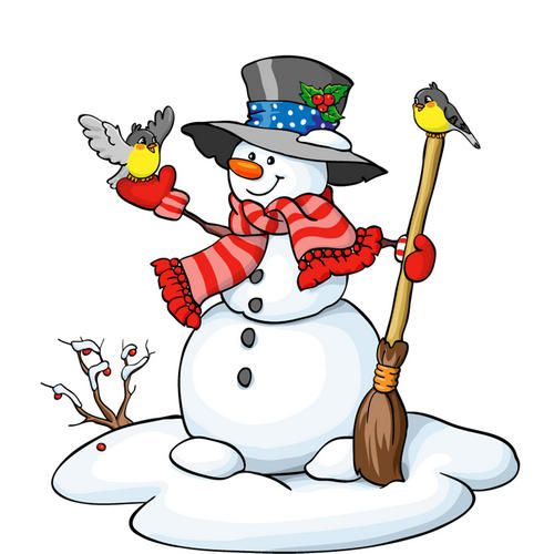 38++ Snowman clipart free download information