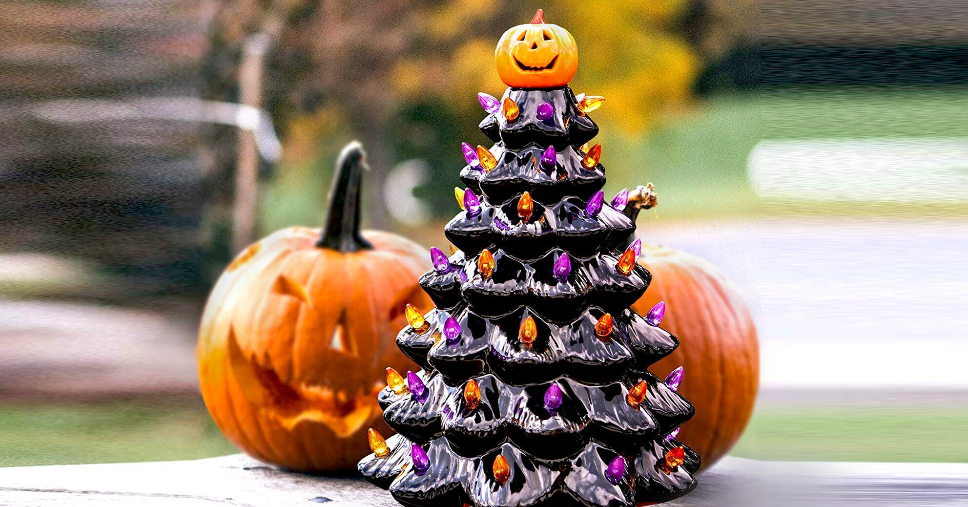 Amazon's Ceramic Halloween Tree Is Back In Stock—But Not