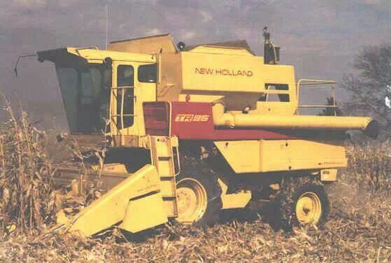 New Holland Tr25 Combine New Holland Agriculture New Holland