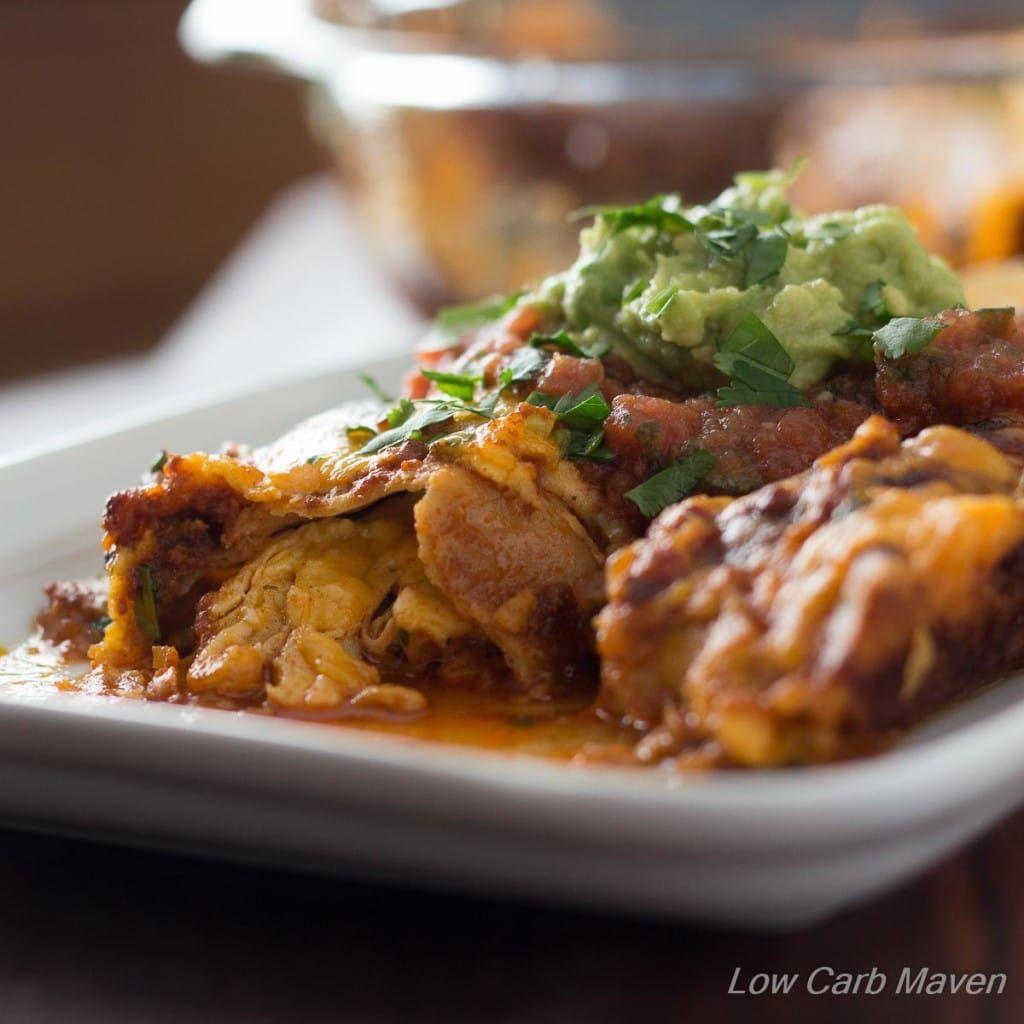Low Carb Chicken Enchiladas Low Carb Maven Low Carb Maven Low
