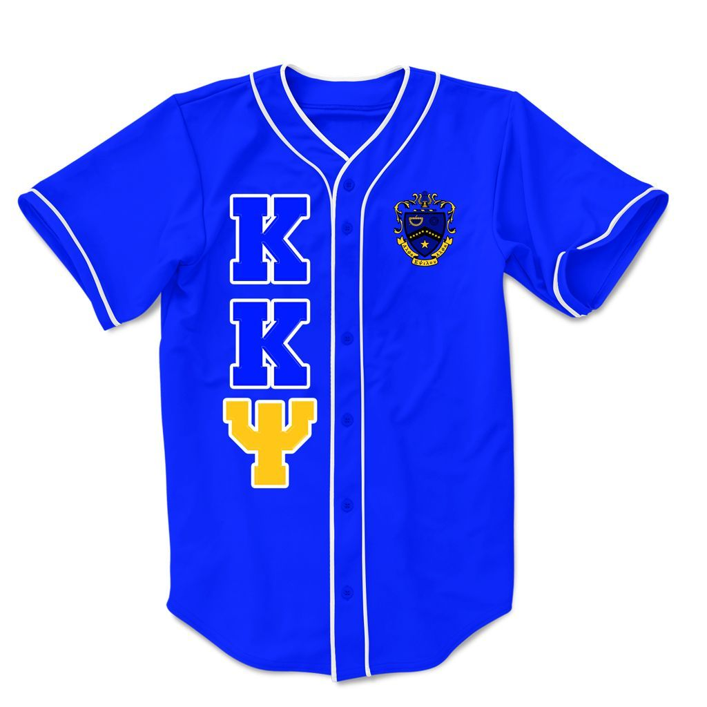 Salamanders Baseball Holly Springs Jersey - Kappa kappa psi embroidered greek baseball jersey