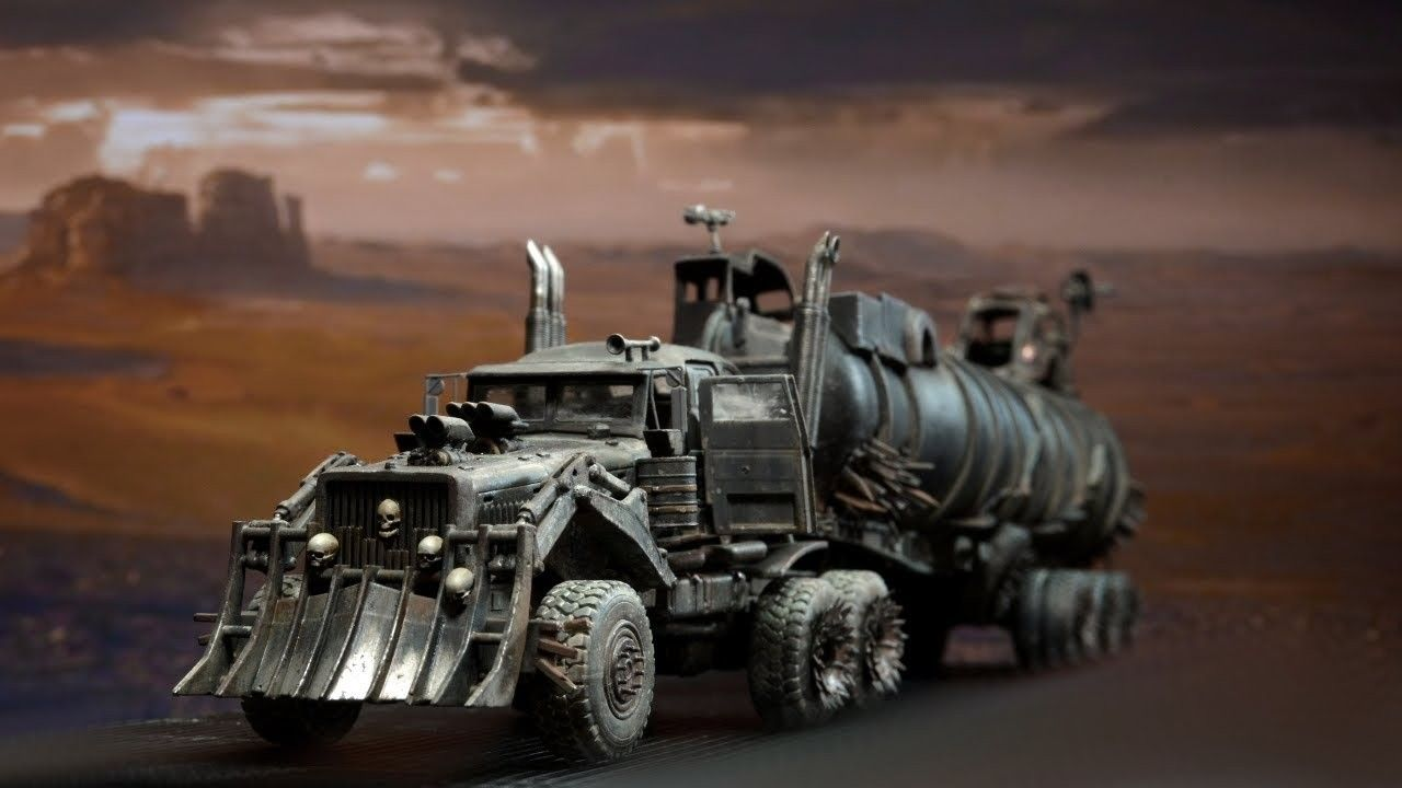 The War Rig From Mad Max In 2021 War Rig Trucks Monster Trucks