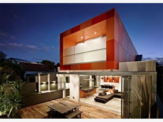 Modern House Box Shape Second Floor Addition - Home and Garden ... on box sled designs, box lid designs, box car designs, box top designs, box cooker designs, box newel post designs, box bed designs,