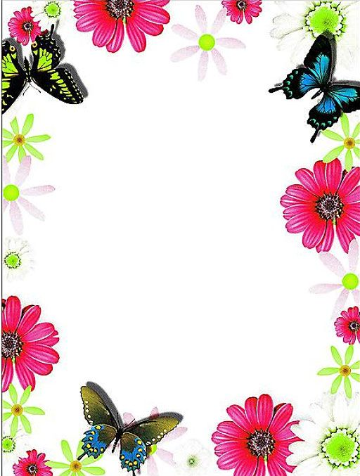 Flower Border Designs For Cards Http Allborderdesigns Com Flower