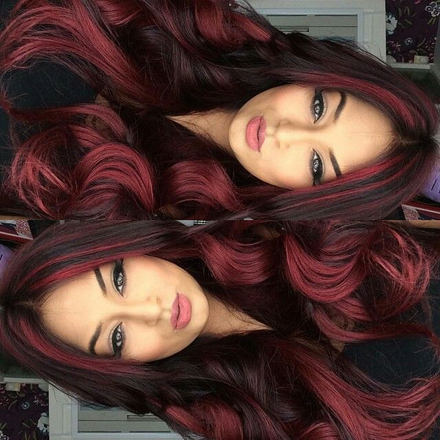Fierce Red Hairstyles Pinterest Hair Coloring Hair Style And