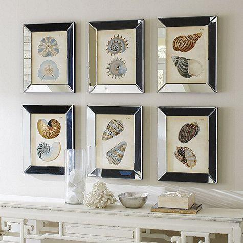 mirror photo frame shells in mirror frame art by ballard design 139 to 199 each - Mirror Picture Frames