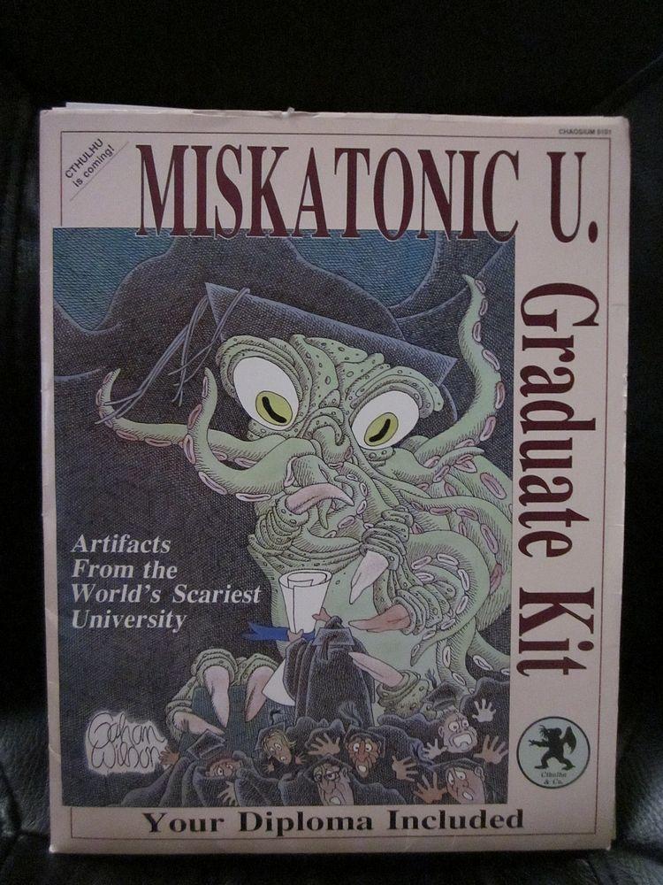 Miskatonic U Graduate Kit From Chaosium Games 1987 Manual Guide