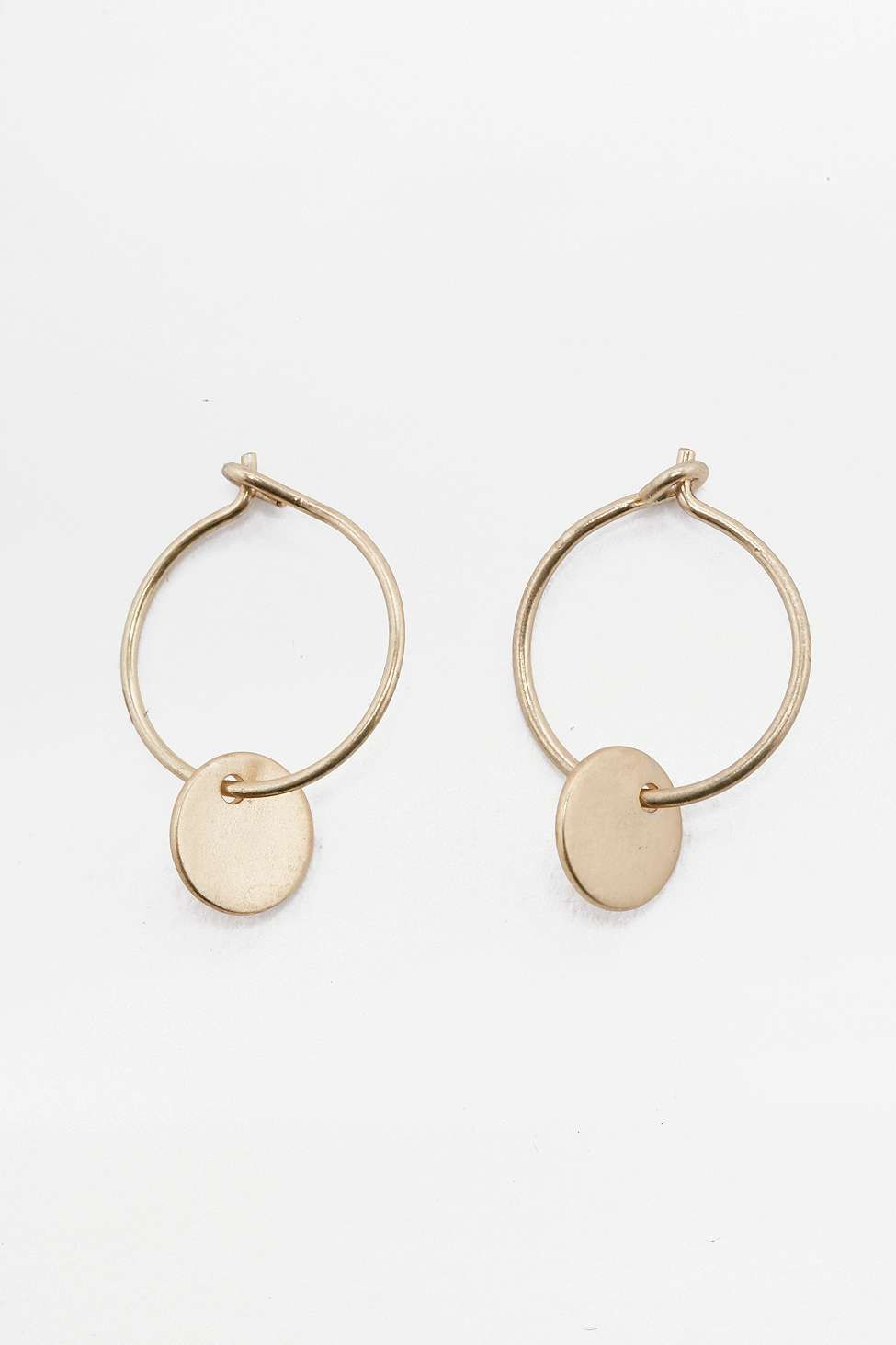 Hanging Hoop Earrings Uo 9