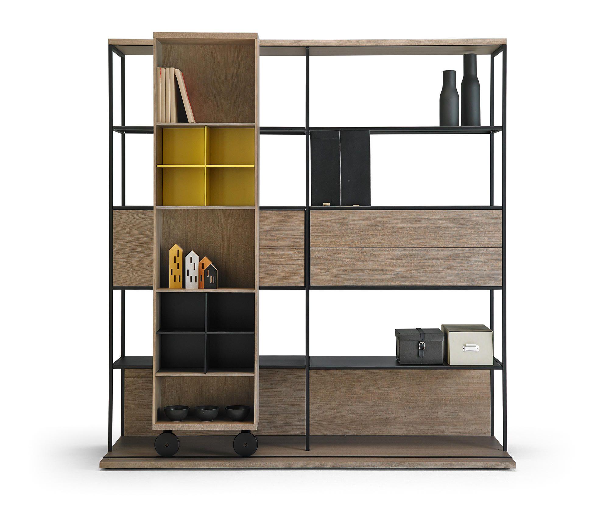 Pin By Reham Hany On Open Shelving: Estanterías Para Bibliotecas De Diseño
