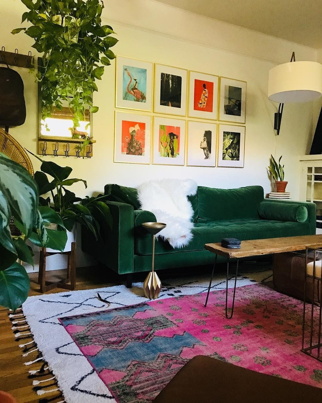 Sven Grass Green Sofa