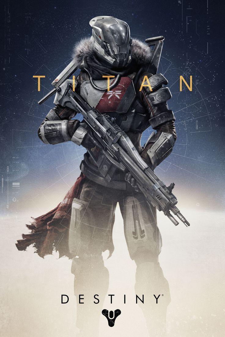 Destiny Titan Bungie * Video Game Art Pinterest