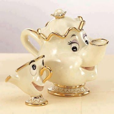 Chip and Mrs. Potts...I need this for my china cabinet....love ...