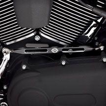 H D Slotted Black Anodized Custom Gear Shift Linkage Harley Davidson Online Store Harley Davidson Harley