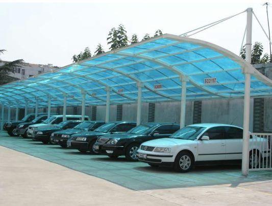 Garagem em Policarbonato: 6 modelos | Garagens | Cobertura ...