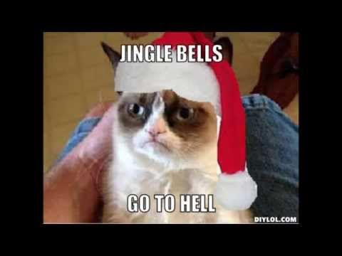 Grumpy Cat Meme Christmas Jingle Bell Song Yahoo Image Search Results Funny Grumpy Cat Memes Grumpy Cat Meme Grumpy Cat Christmas
