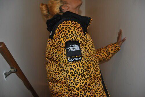2c67620b1c North Face x Supreme Leopard Jacket