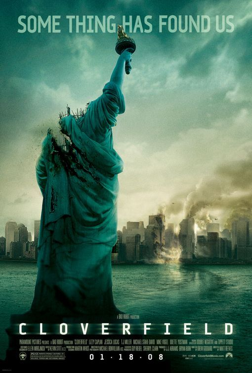 Click To View Extra Large Poster Image For Cloverfield Cloverfield 2008 Best Movie Posters Horror Movie Posters
