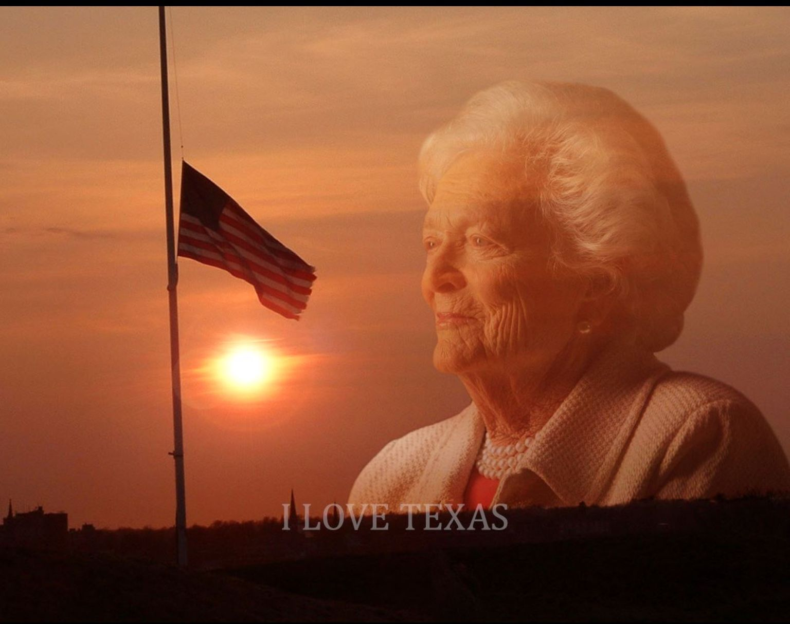 God bless former First Lady Barbara Bush. Rest in peace, good soul.