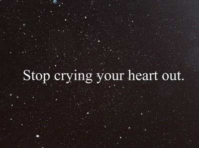 Stop Crying Your Heart Out -Oasis
