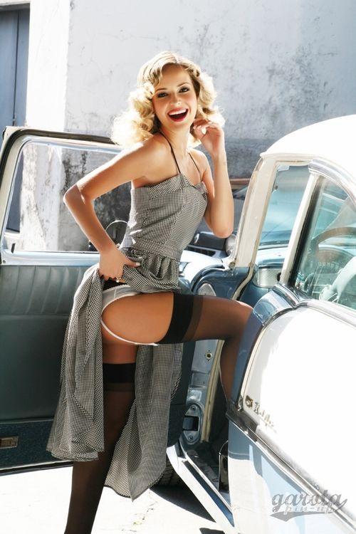 Car bike sexy girls chevy pinterest cars for Retro italian xxx