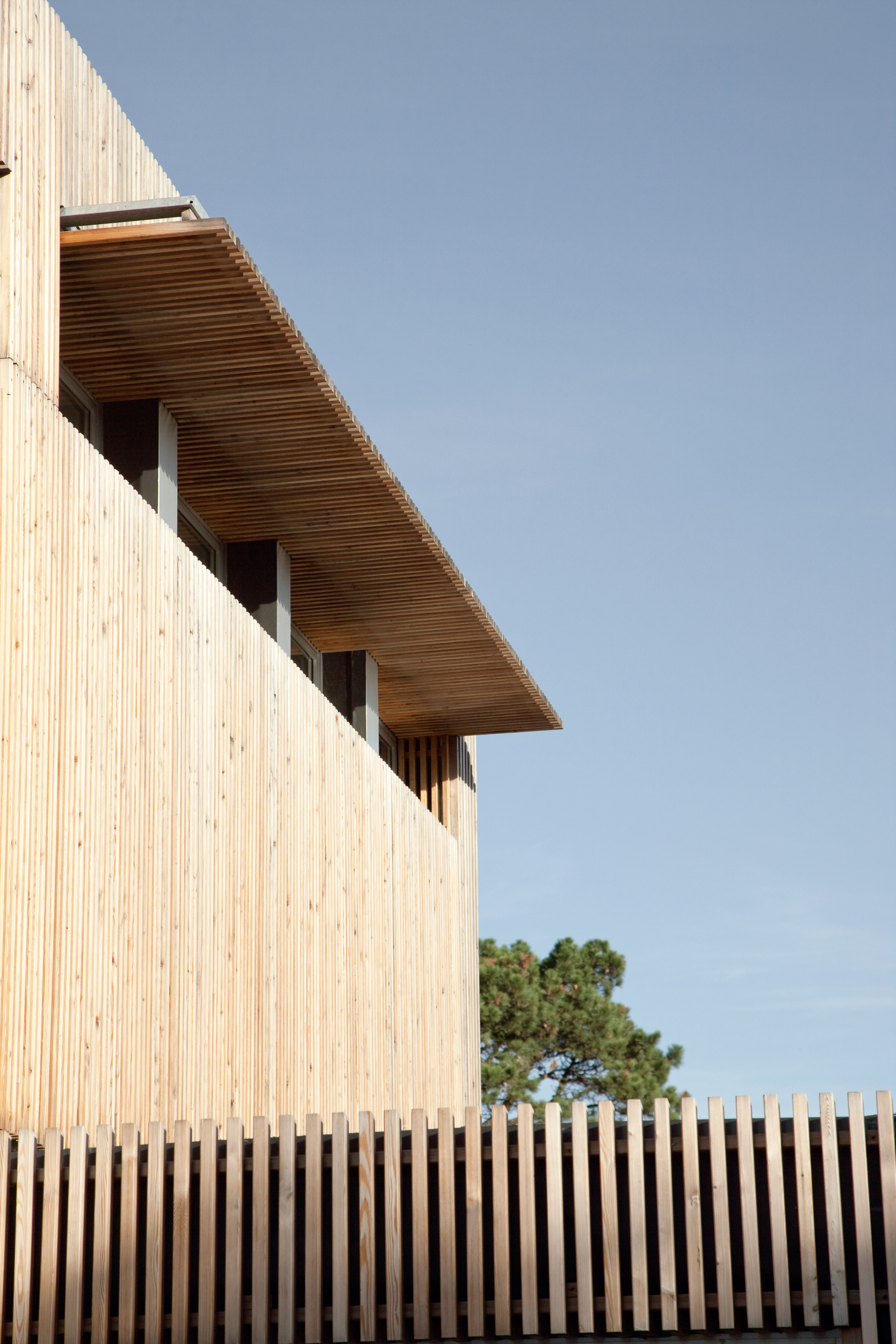 Elegant R House   Gardera D Architecture | Wooden Facade