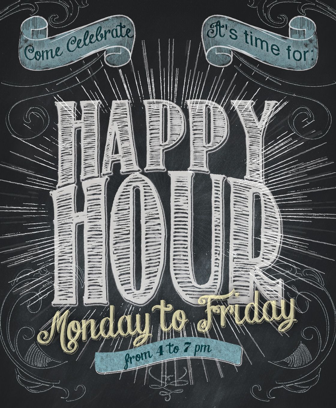 Meet Us For Happy Hour Monday
