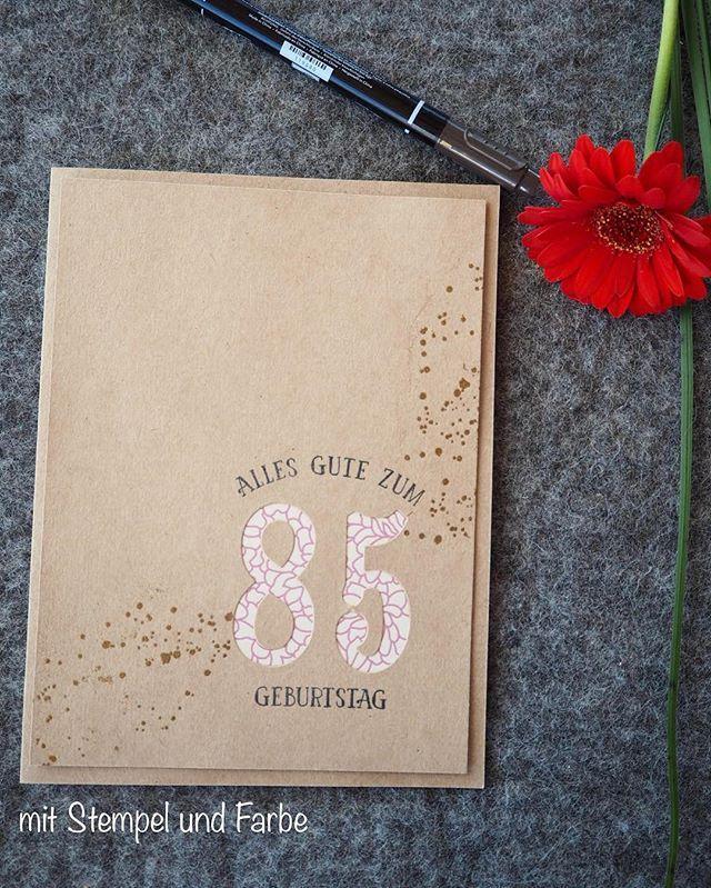 Die Geburtstagskarte Fur Meine Oma Zum 85 Geburtstag Oma