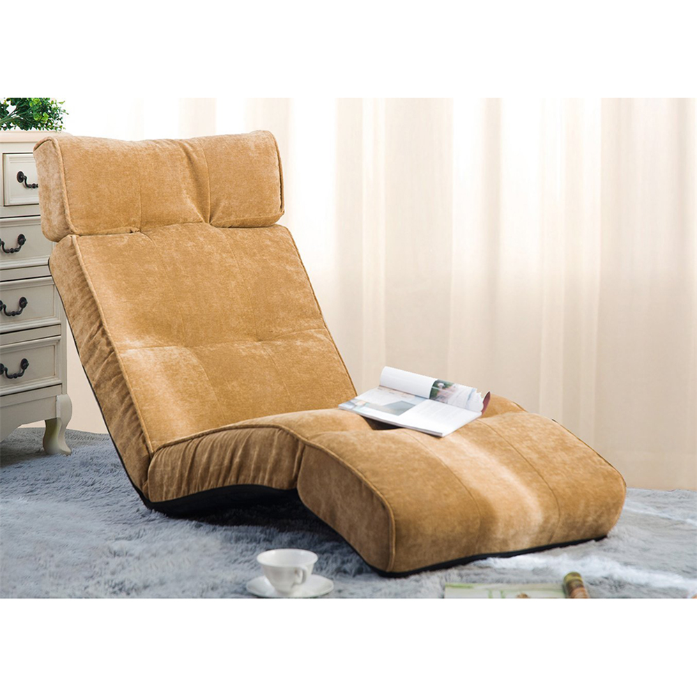 merax floor recliner lazy sofa bed folding chair