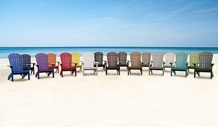 Did Not Know That Adirondack Chairs Came In So Many Colors! Hearthside  Furniture