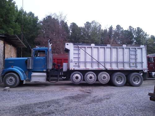 2000 Kenworth W9 Blue 2000 Kenworth W900 Cat Motor 6 Axle Dump