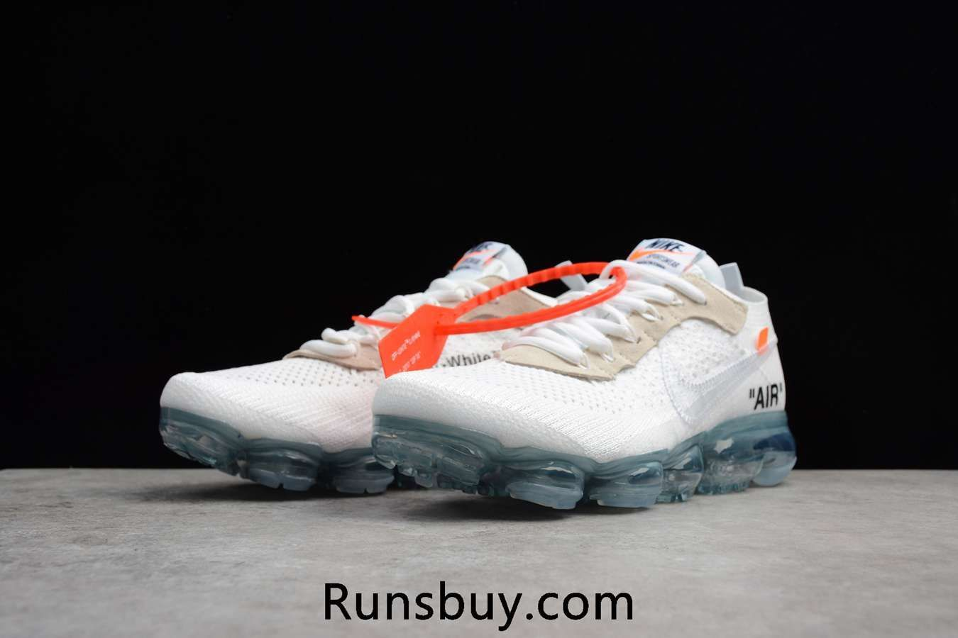 best loved 82f46 4ef11 OFF WHITE x Nike Air VaporMax 2018 OW Flyknit White Women Men Runway Fashion,  Fashion