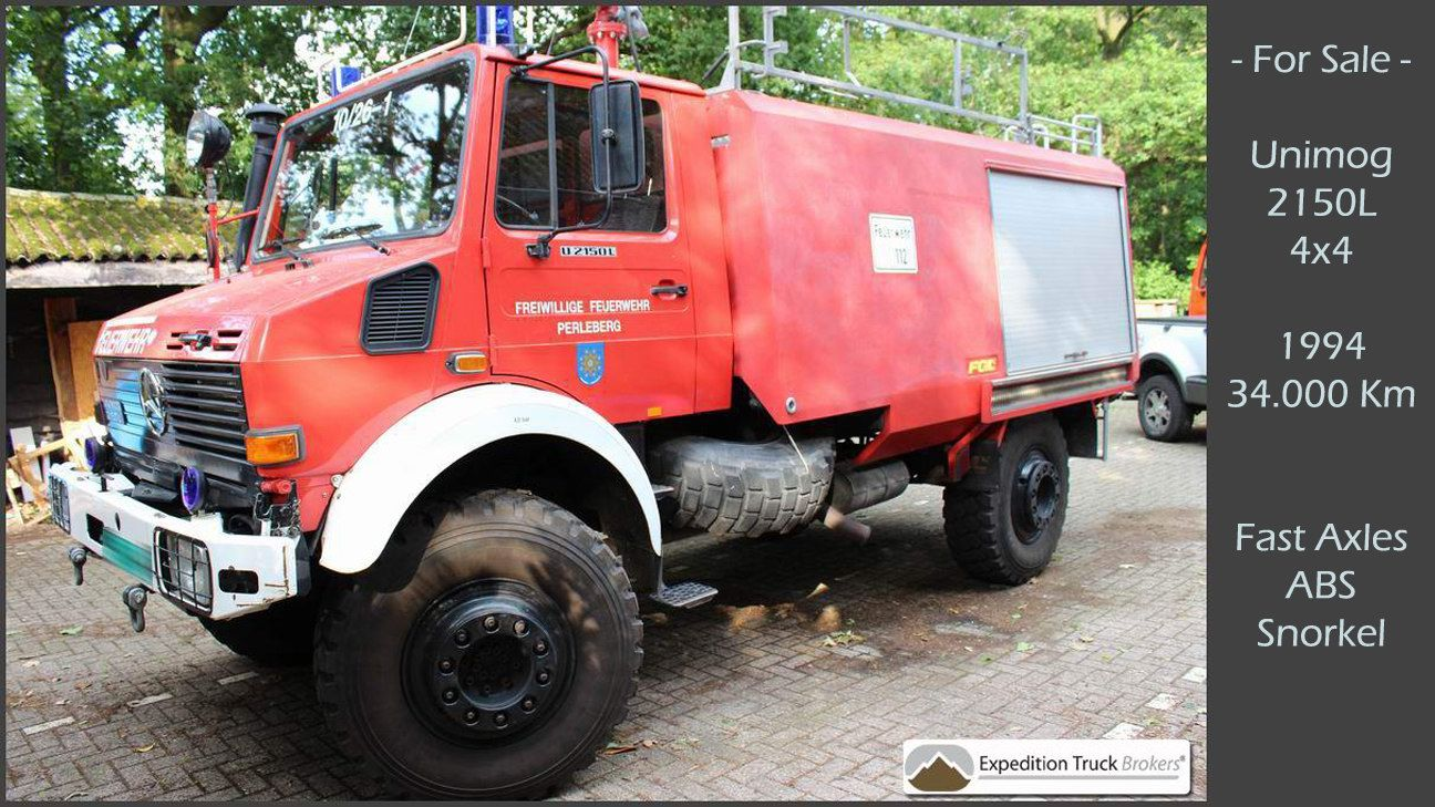 unimog u2150l 4x4 expedition truck chassis for sale truck chassis for sale expedition truck. Black Bedroom Furniture Sets. Home Design Ideas