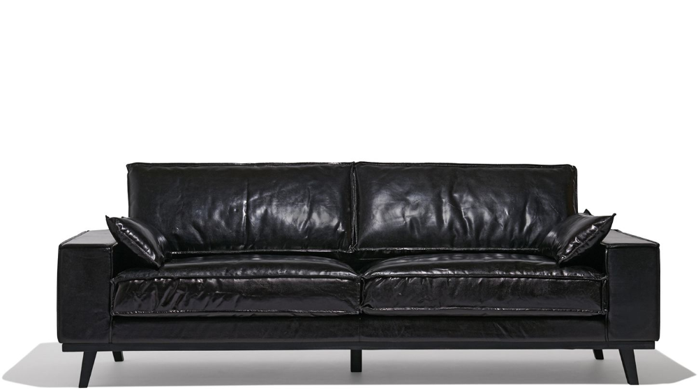 Finch Sofa in 2020 Sofa, Black sofa, Leather sofa